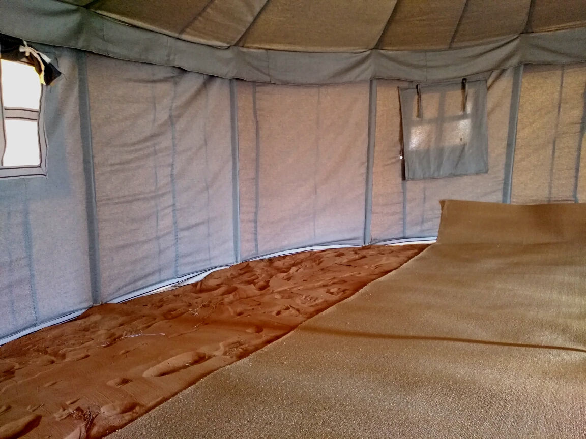 And most important we put stones around all setups to safe the tents Majlis kitchen and toilet from the wind digging out the sand & Our Story - Our Desert Hotel in Oman Wahiba Sands